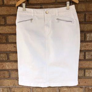 Ralph Lauren Denim white Skirt size 6
